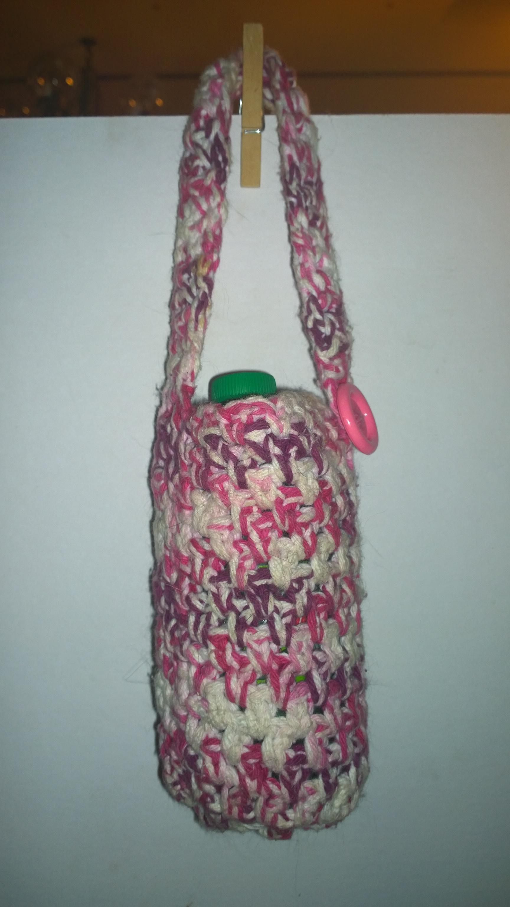 CrochetedBottle Holder
