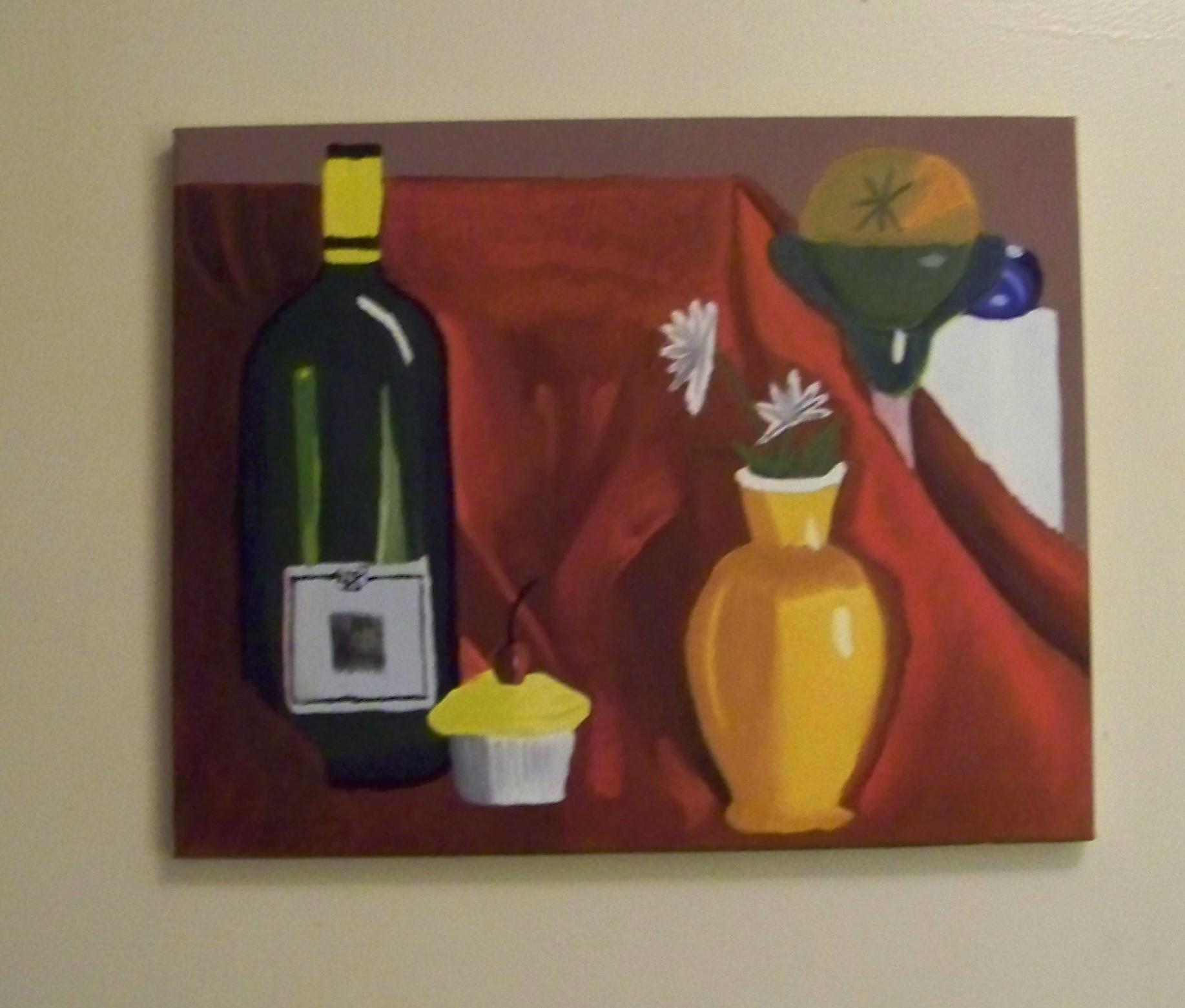 Wine Bottle Oil