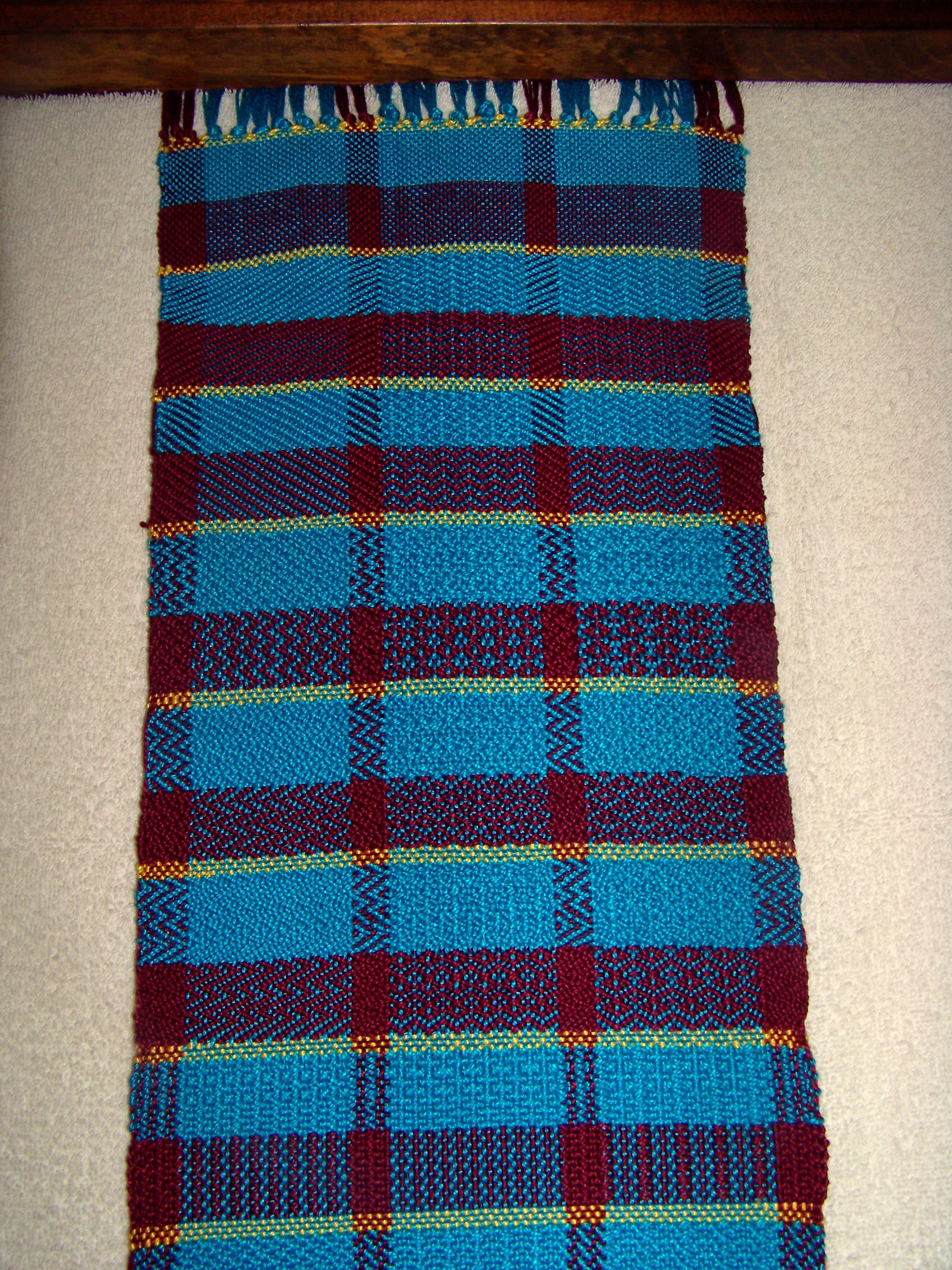 Twill Sample Scarf 2