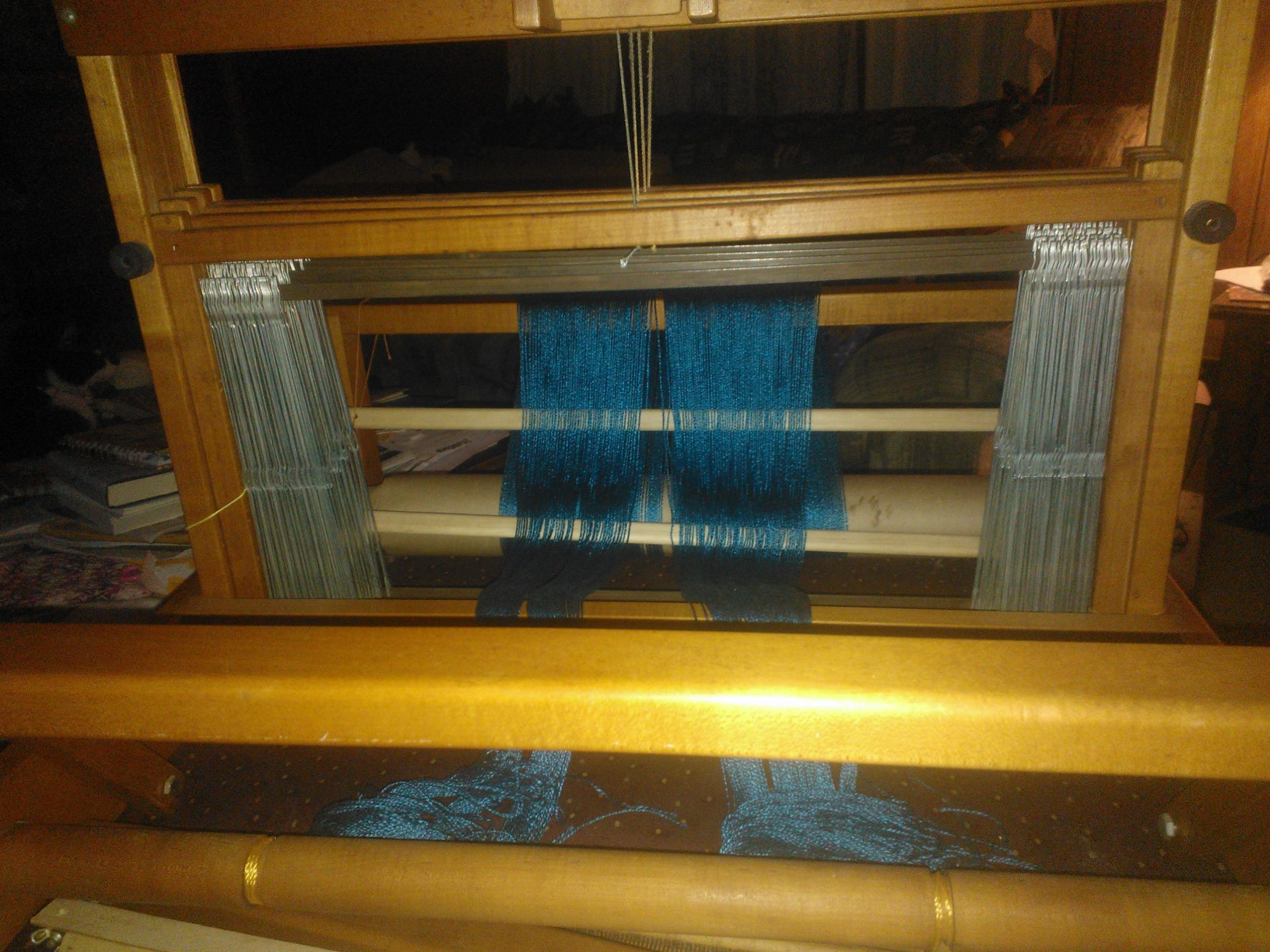 Almost ready to thread the loom....finally