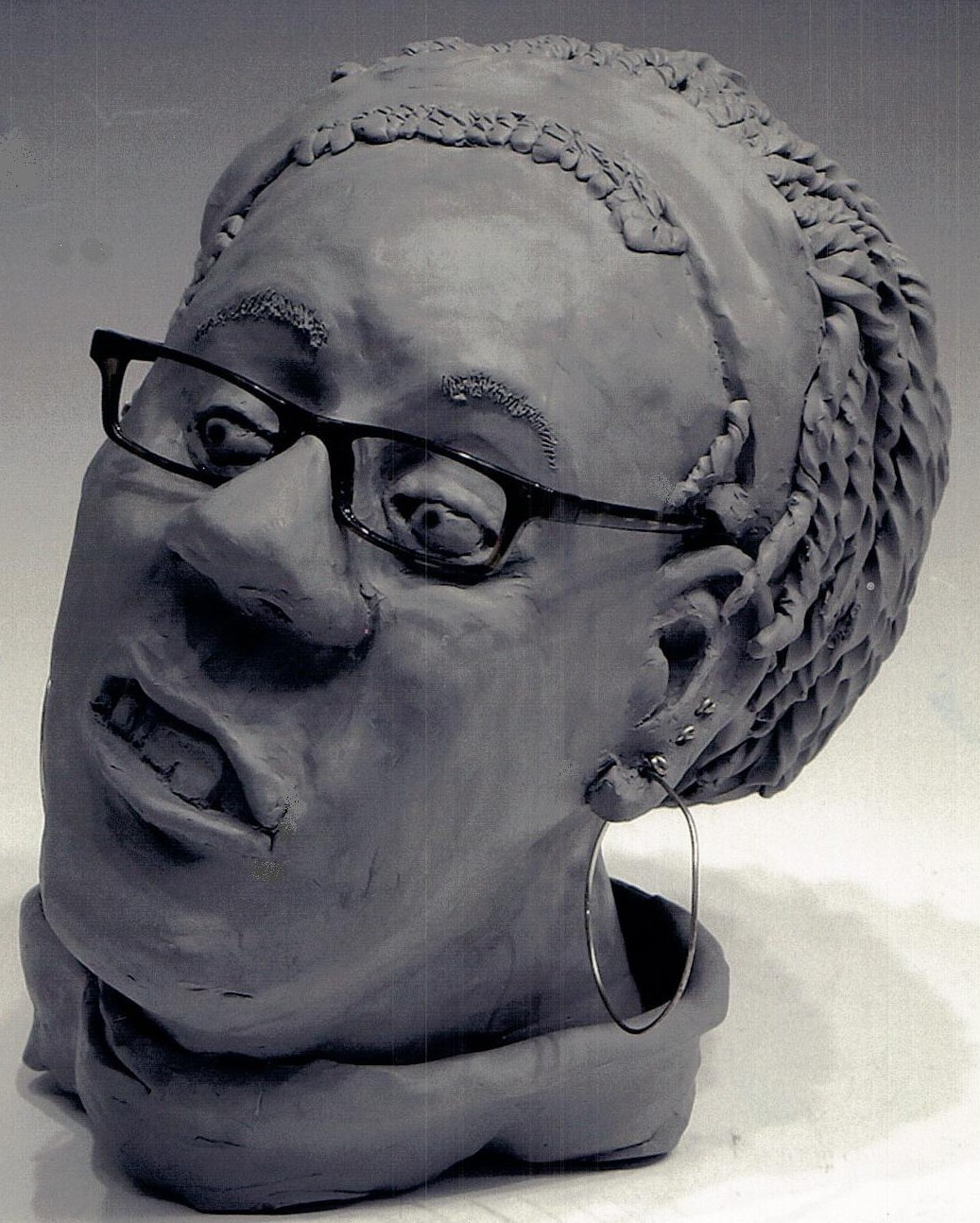 Head Sculpture=Erica.1jpg