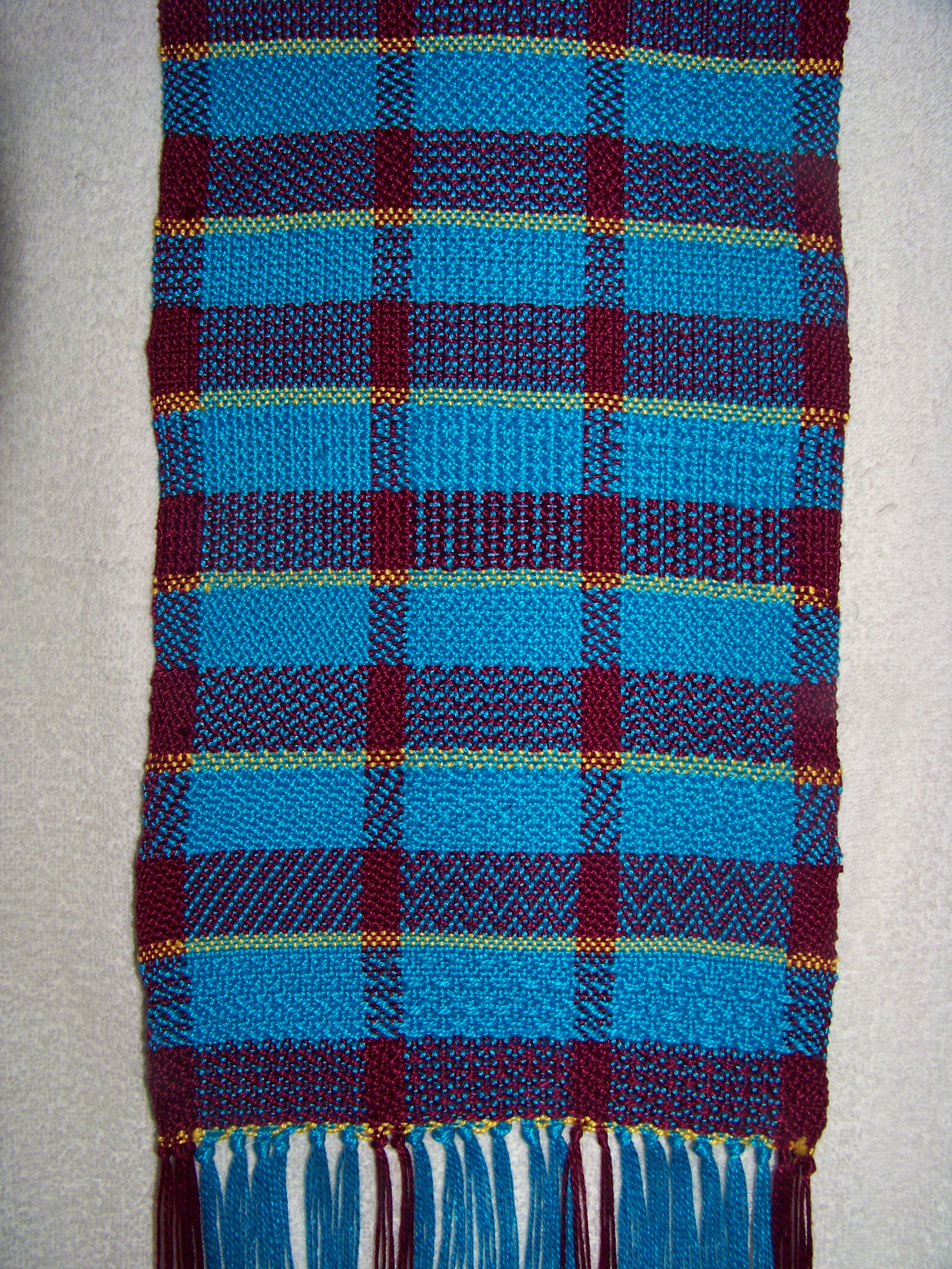 Twill Sample Scarf 1
