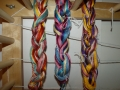 The 3 Warps ready for the loom