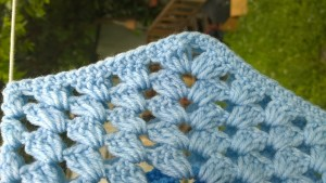 UK Blanket in Blue 5   Designs by Suzie